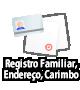 Inscrição de censo, o cartão de residente, inscrição de selo,