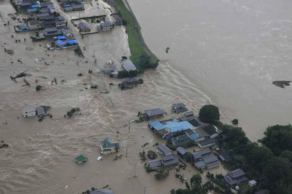 千曲 川 決壊 地図